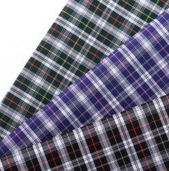 형식 디자인 털실에 의하여 염색된 관례에 의하여 길쌈된 셔츠 직물 피복은 100%년 면 직물을 인쇄했다