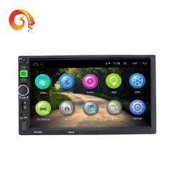 공장 공급 보편적인 다중 매체 GPS 항해 체계 7 인치 접촉 스크린 두 배 2 DIN 인조 인간 자동차 DVD 영상 선수 자동차 라디오 입체 음향 오디오
