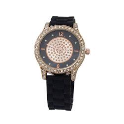 Спортивной моды смотреть световой руки дамы наручные часы с каменными (JY-SQ024)