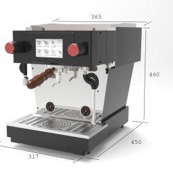 単一のグループが付いているエスプレッソのコーヒーメーカーか機械