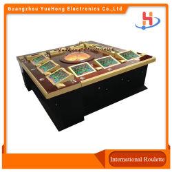 Nueva Mega Ball Mega Casino Ruleta Tragaperras Tabla de la rueda de ruleta Juegos de azar electrónicos 12 jugadores de Casino Máquinas