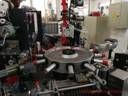 Bouteille de vin à haute vitesse automatique Capsule Making Machine de fabrication d'étanchéité en PVC ou Polylaminate la gaine thermorétractable de capsules de bouteille