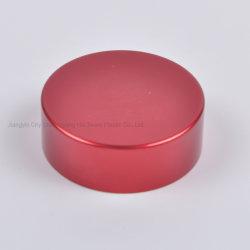 Perfume de aluminio rojo tapón Botella de vidrio
