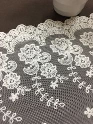 Fios de estilo francês rendas líquidas Bordados Fashion roupas femininas acessórios cama de casamento é provado materiais para uso doméstico