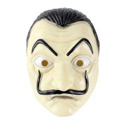 Famoso filme La Casa Dinheiro Heist máscara plástica Salvador Dali Máscara de Furto