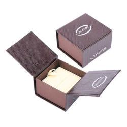 Papel de papelão elegante Anel de casamento dom Dom Jóias Caixa de Embalagem