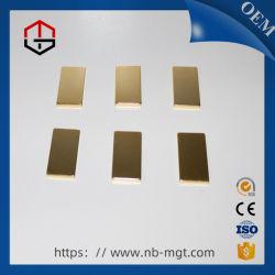 Magneto de neodímio permanente NdFeB barra magnética para a componente industrial do Motor