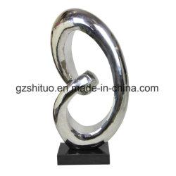 Sculptures abstraites en acier inoxydable, Arts et Métiers