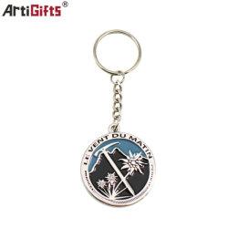 La promotion de l'impression client Design Logo trousseau de clés en métal