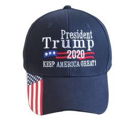De douane President Trump 2020 houdt van de Katoenen van het Honkbal van Amerika de Grote GLB Geborstelde Hoeden Reclame van de Keperstof