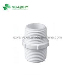 BS filetage du raccord de tuyau en PVC Système d'eau d'adaptateur d'accouplement mâle