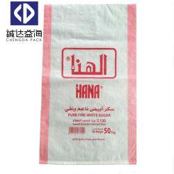 Stratifiés tissés sacs en plastique PP PP de l'emballage des sacs de farine de riz de sucre