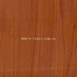 Ahornholz Korn Dekoration PVC-Laminierfolie / Folie / Blatt