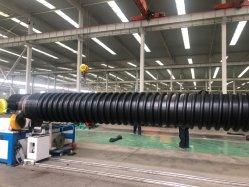 En PEHD de 48 pouces Adaptateur de bride du tuyau de bobinage amélioré Carat noir tuyau ondulé