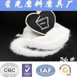 Alumínios fundidos branco/material de moagem/com jacto de areia/Polimento (XG-UM013)
