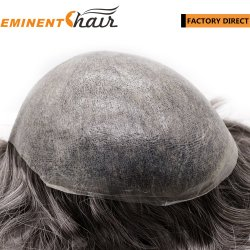 Мгновенной доставки человеческого волоса запаса кожи Toupee количество впрыскиваемого топлива