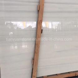 حجر زجاجي بلون نانو أبيض يتبلور في الأرضية، وحائط للخلفية، وحمام، وعلو مطبخ، وفواصل، طاولة شاي