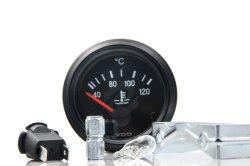 52mm Temp Metros Gerador Universal Auto Barco Automóvel 24V o ponteiro do indicador de temperatura do líquido de arrefecimento de água Vdo 40-120