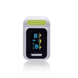Ancianos oximetro de dedo portá til de la SpO2 dedo pulsioxímetro de saturación de oxígeno en sangre medida Monitor