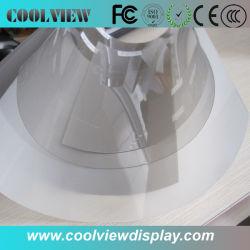 La pantalla de proyección holográfica en 3D/proyector pantalla proyector trasero/película