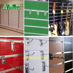 7-11 MDF rainuré/logement de bandes en aluminium inséré MDF pour affichage Surpermarket