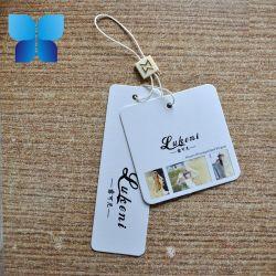 Hangtag variopinto di stampa dei due lati per gli accessori dell'abito