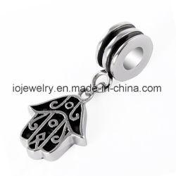 Bracelet MakingのためのHamsa Symbol Stainless Steel Charm
