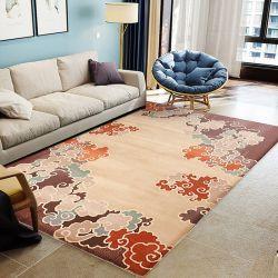 Neuseeland-Wolle-handgemachter büscheliger Wolldecke-Bodenfläche-Ausgangswohnzimmer-Teppich