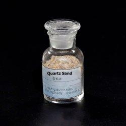La pureza del cuarzo fina y blanca arena de sílice