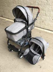 Passeggiatore del bambino di alta qualità con la sede di automobile