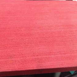 Rose/Rouge la gomme de caoutchouc naturel feuille avec Rough Retour