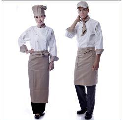 Veste de Cuisine Restaurant Hotel à manches courtes Chef enduire uniforme