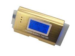 "L'ordinateur PC Testeur d'alimentation, ATX /l'ITX/ide/HDD/connecteurs SATA Testeur d'alimentation, écran LCD 1,8"" (coque en aluminium doré)"