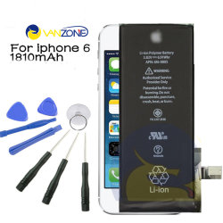 Batterie d'origine pour l'iPhone un téléphone mobile Téléphone mobile de la batterie haute capacité