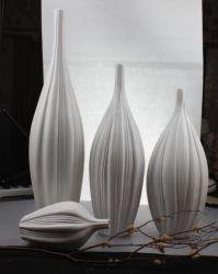 Artesanato de porcelana branca com a concepção ocidental