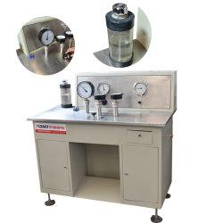 Máquina de calibración del manómetro digital