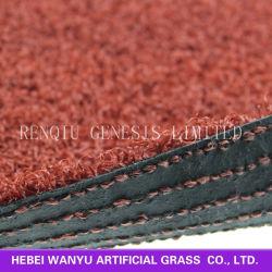 Césped Artificial de color rojo Artificial Topiary Animal Animal perro