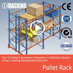 Rack de palete pesada para soluções de armazenamento de Entreposto Industrial (ARI)