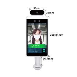 중국 공장 음성 경보 2백만개의 화소 사진기 얼굴 인식 IR 온도계