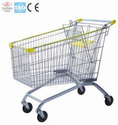 Het Winkelen van het Metaal van de Kruidenierswinkel van de Opslag van de supermarkt het Karretje gaat Kar (yard-B)
