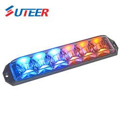 6LED si raddoppiano indicatori luminosi d'avvertimento Lh66 dello stroboscopio di colore LED LED