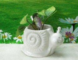 Nouveau design d'escargots de la forme d'artisanat céramique