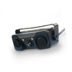 Rückansicht Video-Einparkhilfe 3 in 1-Auto-Kamera Parksensor mit Schallalarm