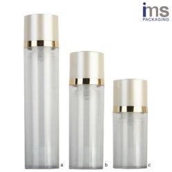 Ronde Plastic Fles Zonder lucht met 50ml 30ml 15ml