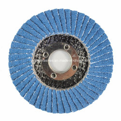 T27 l'oxyde de zirconium plat aluminium volet abrasif disque de polissage de broyage de roue