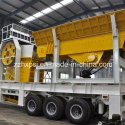 usine mobile du broyeur 40-60t/H à vendre pour l'écrasement de granit