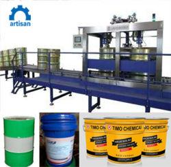 Completar el equipo de llenado del tambor automática máquina de recubrimiento de pintura de la máquina