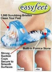 Masajeador de pie zapatilla fácil pies (TV0430)