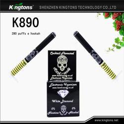 Высокое качество E можно покурить кальян с возможностью горячей замены пера продажи мини-одноразовые E сигарет (K890)