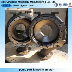 عملية صهر الرمال ANSI الكيميائية جزء مضخة الطرد المركزي Zlt 196 في علبة المضخة ذات الفولاذ المقاوم للصدأ/الكربون في CD4/316/304/التيتانيوم المستخدم في المواد الكيميائية الصناعة